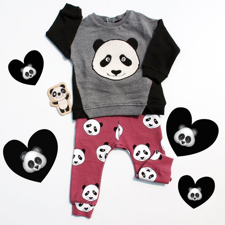 Die Pandas sind lo!  #kindoo #lookoftheday #lotd #kidslookbook #ootd #kidsoutfit #kindermodeeinfachmieten #kinderkleidungmieten #mietenstattkaufen #babykleidungmieten #kidsfashion #fashionforkids #babyfashion #kids #kindermode