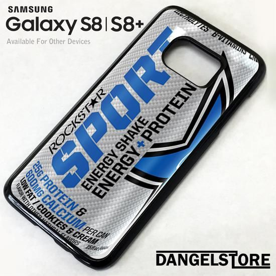 rockstar energy drink sport blue For Samsung S8 | S8 Plus Case