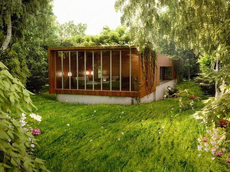 Amazing Renderings Of Beautiful Houses Homes Modern