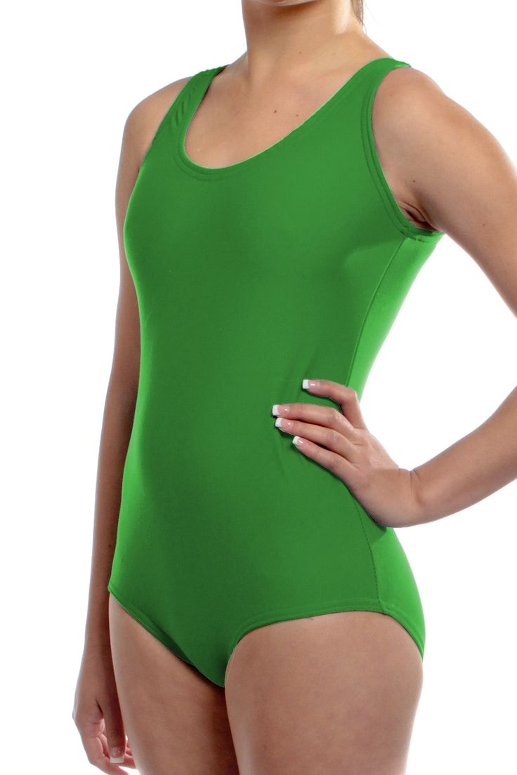 Green Leotards - Available In 200+ Colors. Handmade in the USA! $25.99
