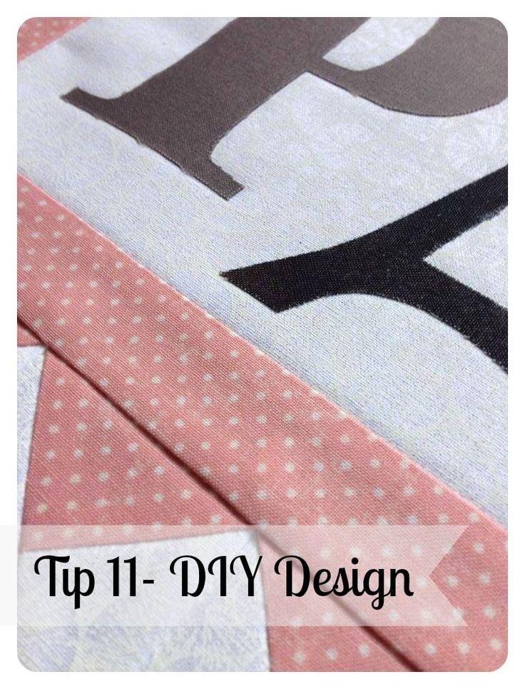 Quilting Tip #11- DIY Design