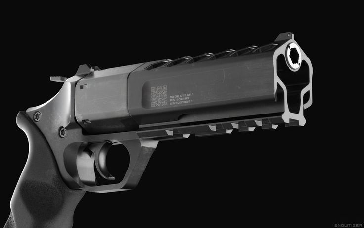 Futuristic Revolver