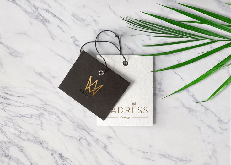 Branding for MADRESS boutique.