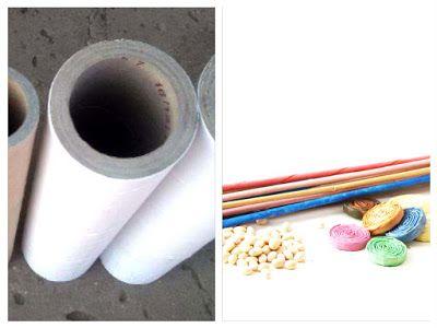 Mestesuguri Impletite: Cum sa face o vaza din tuburi de hartie