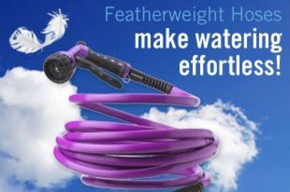 Featherweight Hoses From A Line Of Effort Saving Watering Products