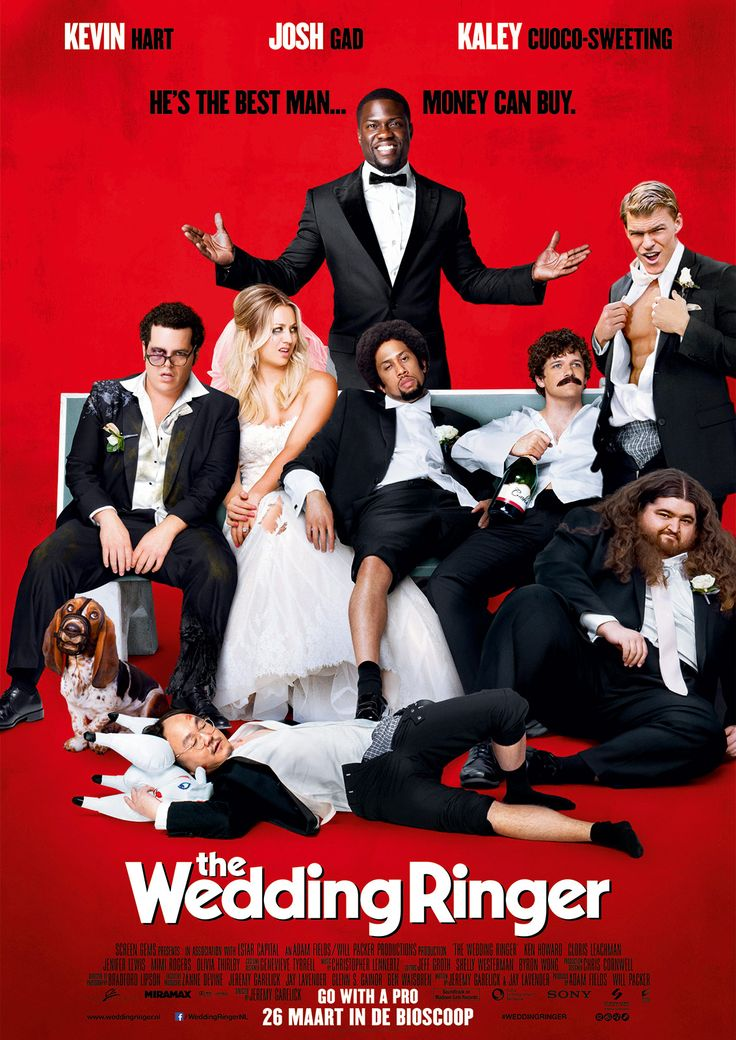 The Wedding Ringer - this movie is hilarious!
