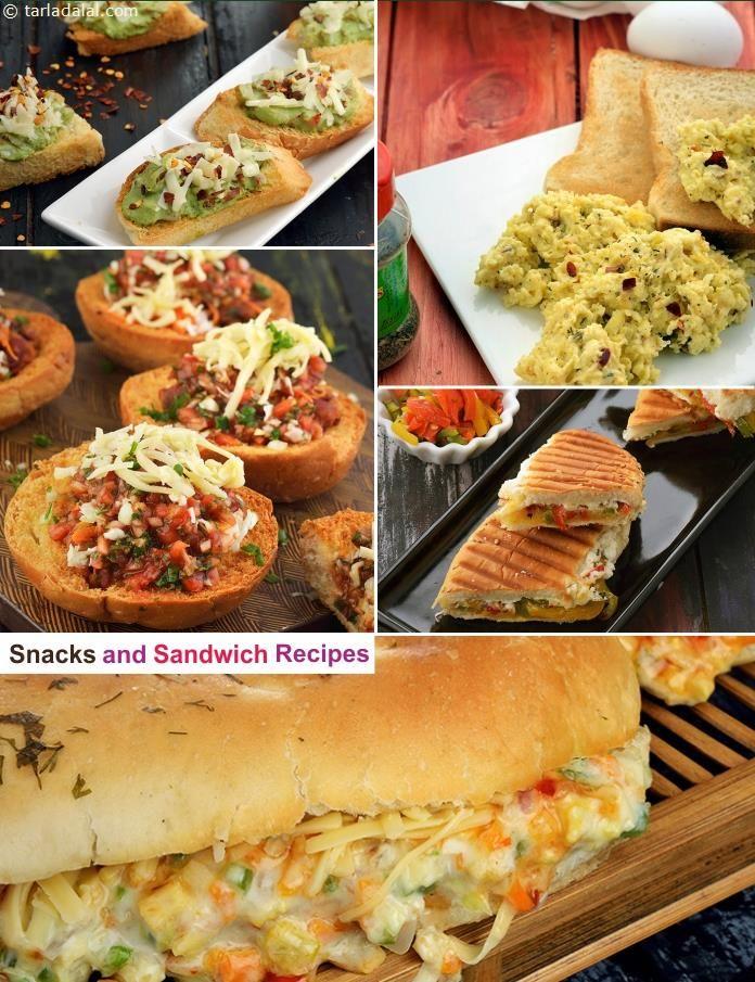 300 Sandwich Recipes, Veg Sandwich Recipes | Page 1 of 28