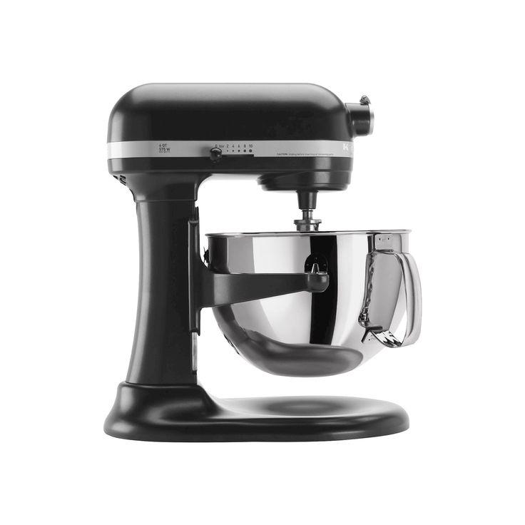 KitchenAid Professional 600 Series 6-Quart Bowl-Lift Stand Mixer - KP26M1X, Licorice