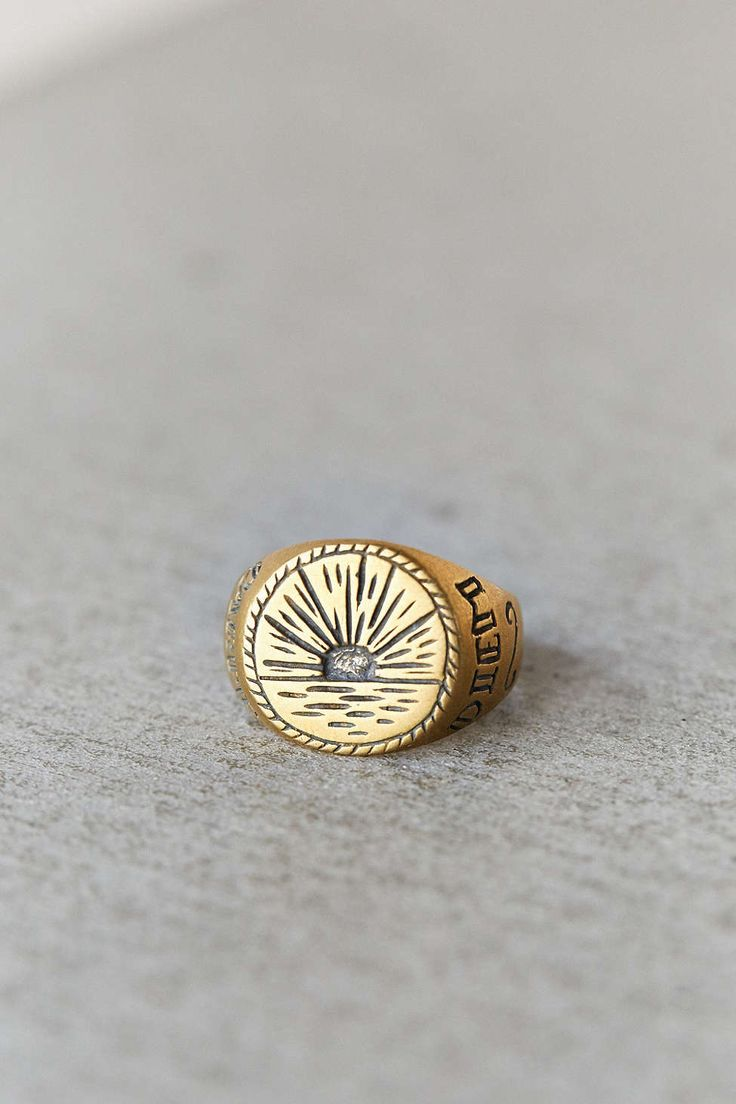 LHN Sunrise Signet Ring …