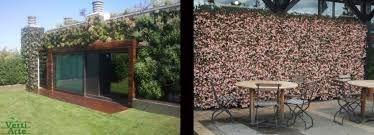 Afbeeldingsresultaat voor groene afscheiding tuin