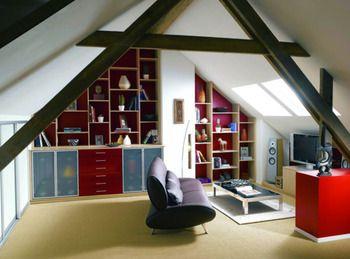 56 best Aménager et décorer les combles, la vie sous les toits ...