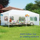 OUTT White 3x6M Gazebo Party Wedding Tent Event Marquee Outdoor Pavilion Canopy