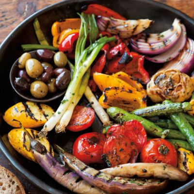 Antipasto Grill-I could serve it on my new platter!