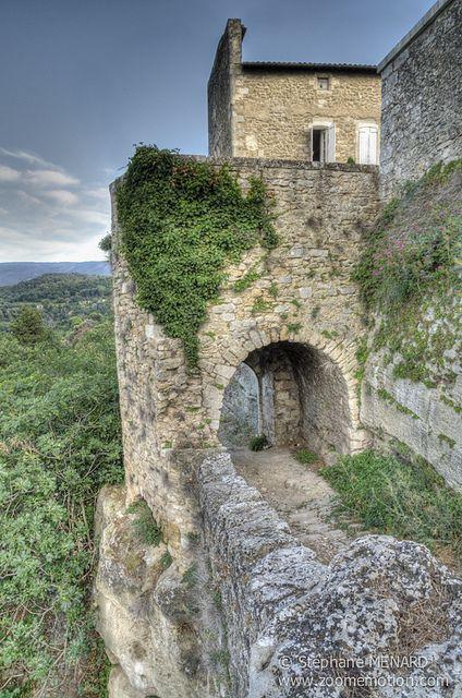 Ménerbes ~ a walled village on a hilltop in the Provence-Alpes-Côte d'Azur, southeastern, France.