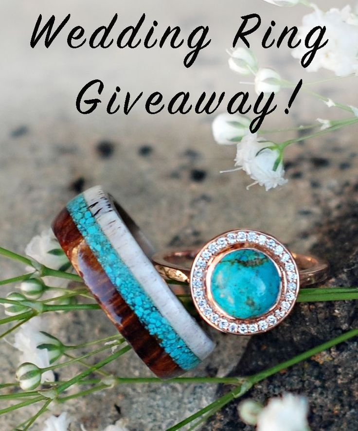 CUSTOM WEDDING RING GIVEAWAY! Visit at Staghead Designs for more info: http://www.stagheaddesigns.com