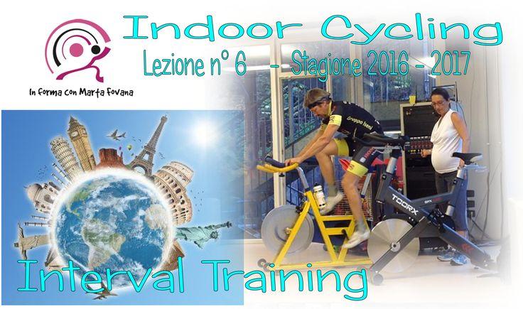 In giro x il mondo con questo interval training!!!!