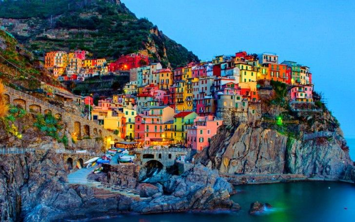 Manorala (Italy) – Mind Blowing Colorful Fishing Village on Hills