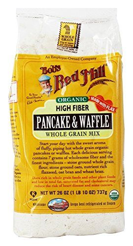 Our Organic Waffle Mix is packed with nutritious, certified organic ingredients, including stone ground whole wheat pastry flour, Scottish Oatmeal, flaxseed meal, oat bran, wheat germ and a touch of pure cane sugar for sweetness.