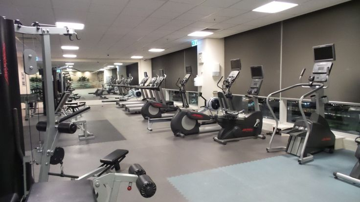 Gymnasium at the Parkroyal Melbourne Airport Hotel, Melbourne, Australia