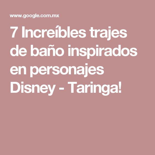 7 Increíbles trajes de baño inspirados en personajes Disney - Taringa!