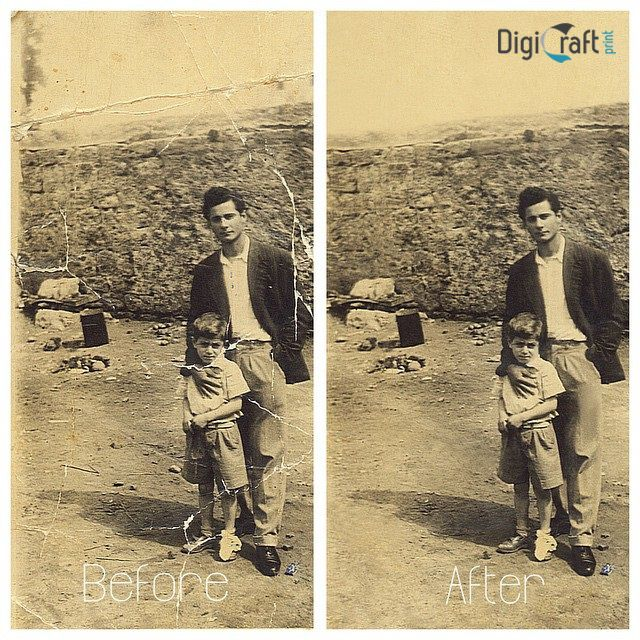 Do you have an old photo that is damaged from age or neglect? We can digitally restore to its original state no matter how damaged the photo is.  #oldphoto #restoration #digicraftprint #digitalrestoration #backtoitsorigin Getting interested? Visit http://www.digicraftprint.com.au/