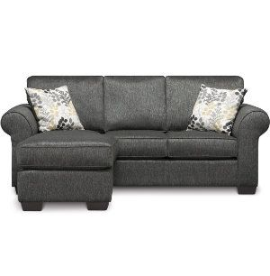Alfresco sofa chaise sectionals living rooms art van for Sectional sofa art van