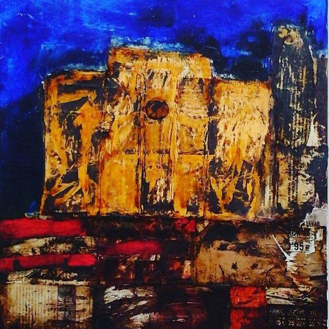 Santo Domingo 60*50 cm.   #IrynaGragera #art #arte #pintura #cartagena #españa #spain #museo #museodelprado #artemoderno #mixmedia #oleo #modernart #paisaje #landscape #museoreinasofia #abstractart #madrid #ok_madrid #informalart #informalism #informalismo #ok_spain #tecnicamixta #artist #gallery #ok_sevilla #sevilla #odessa