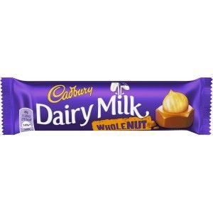 #Cadbury Dairy Milk #Wholenut #Chocolate 49g