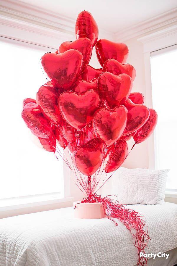 Red Heart Balloon Heart Balloons Valentine Balloons Heart Balloons
