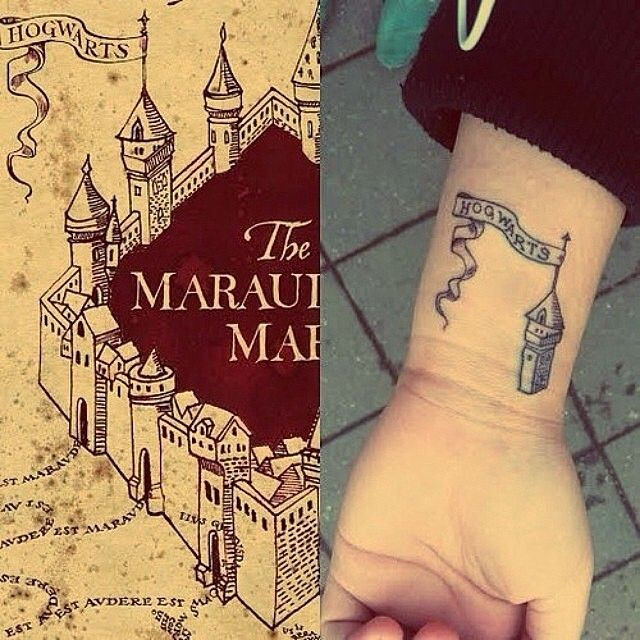 Isn't this super cute? ☺️#maraudersmap