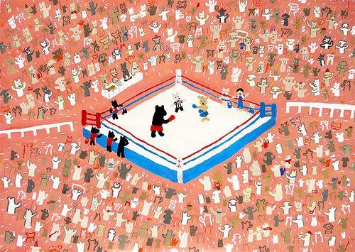 Japanese Illustrator Itsuko Suzuki illustration