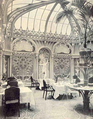 La Fermette Marbeuf, Paris 1898