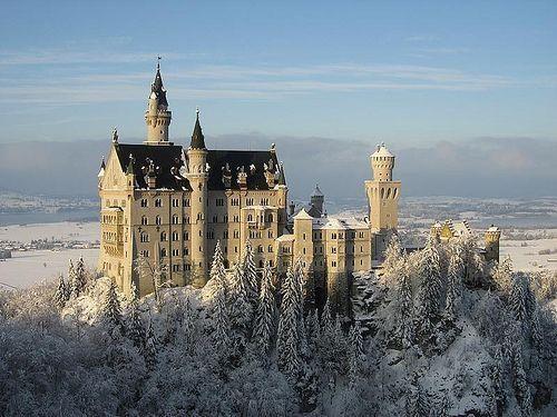 Neuschwanstein, BavariaSleep Beautiful, Christmas Time, A Cinderella Stories, Cinderella Castle, Disney Castles, Neuschwanstein Castles, Disney Theme, Bavaria Germany, Fairies Tales