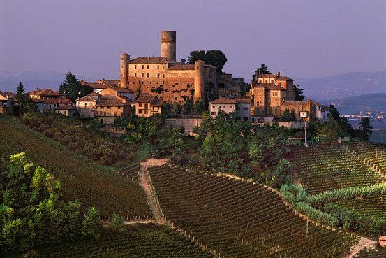 Trekking 70 kilometers -- and tasting three days of gourmet delights -- in Piedmont, Italy, via WSJ