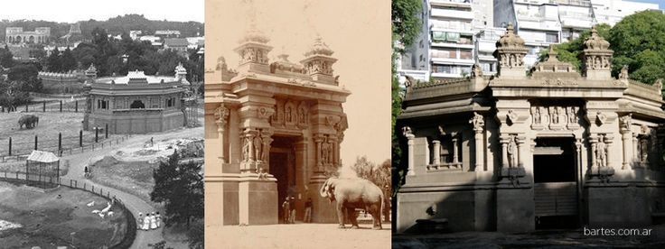 Hindu temple in the zoo of Buenos Aires