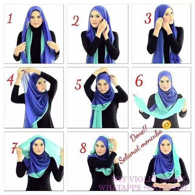 Al Humairah hijab tutorial