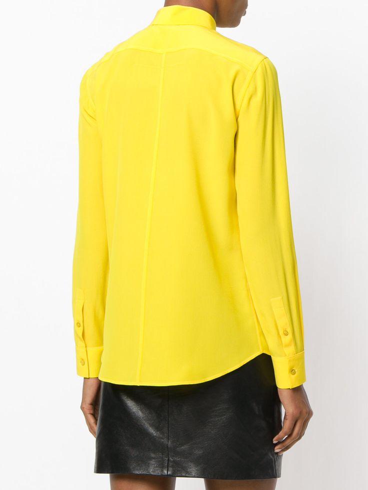 Givenchy camisa de chifón