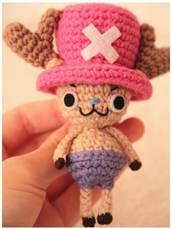 Chopper from One Piece Amigurumi