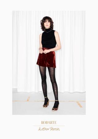 & Other Stories | Rodarte Crushed Velvet Shorts
