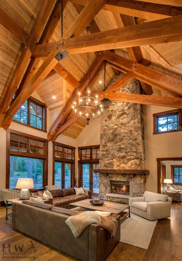 98 best images about timber trusses on pinterest Rustic style attic design a corner full of passion