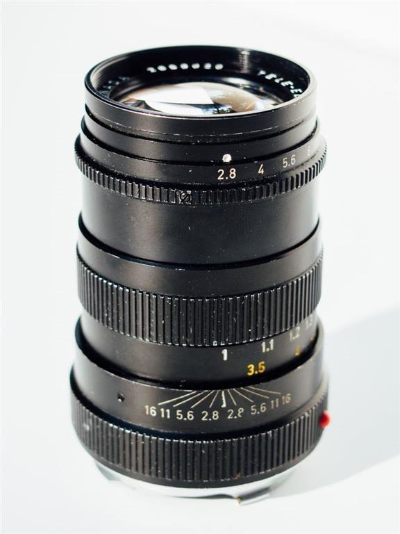 Leica Leitz Tele-Elmarit 90mm F2,8 för Leica M kameror. på Tradera.com -