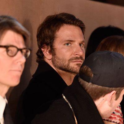 Bradley Cooper cheers on supermodel girlfriend Irina Shayk at PFW