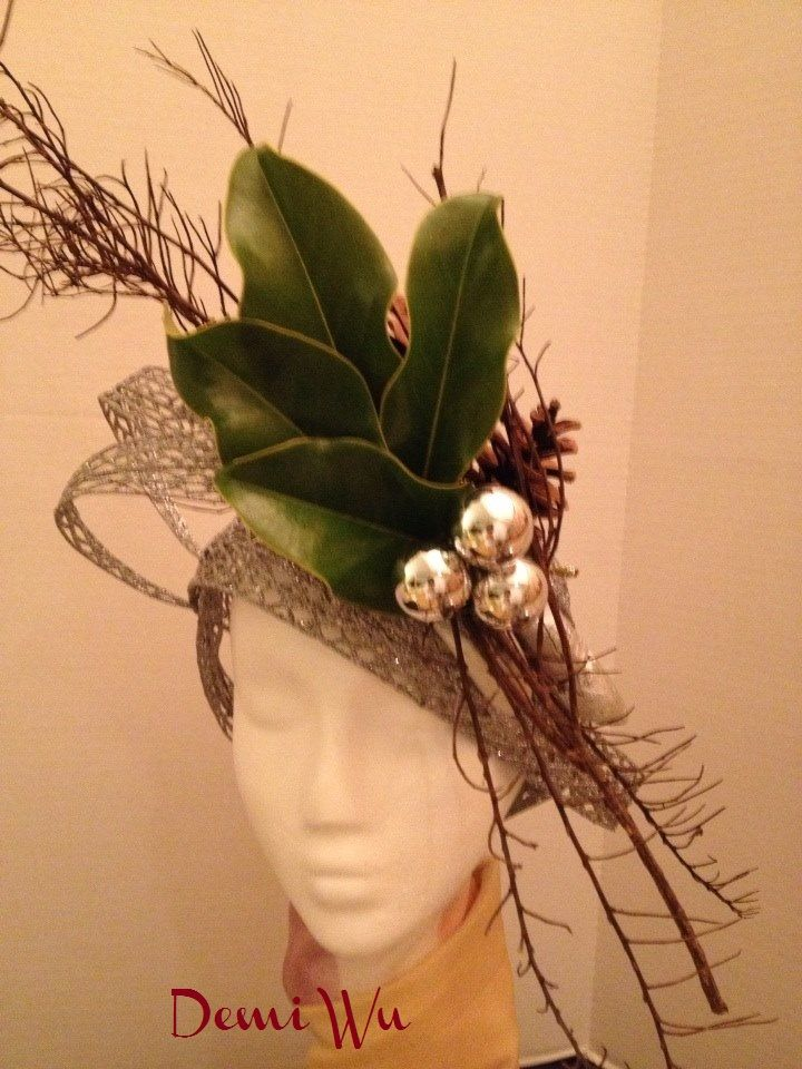 Design by Demi Wu  Find styofoam mannequin heads for your floral designs at Mannequin Madness.