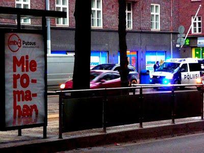 Helsinki blogi: Mie romahan. Mutta ei hätää, musta maija on kutsuttu paikalle. Helsinki.