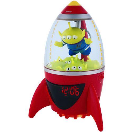 Disney Toy Story Aliens Alarm Clock Radio...too bad I don't need an alarm clock anymore!