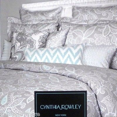 Cynthia rowley pillow shams and duvet covers on pinterest for Cynthia rowley bedding