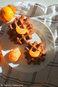 Patce's Patisserie: Schnelle Spekulatius-Waffeln mit Mandarinen & Schokolade