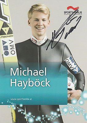 Michael Hayböck   -   österreichischer Skispringer