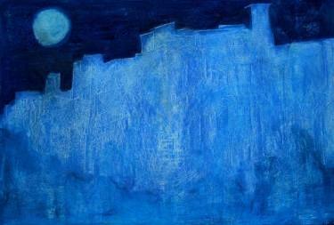 "Saatchi Art Artist Jorge Berlato; Painting, ""Full moon in Pernambués"" #art"