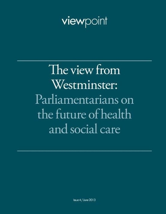 A viewpoint featuring personal reflections by eight parliamentarians, based on speeches and observations at a series of events organised by The King's Fund and the Nuffield Trust. Access full resources here at: http://www.nuffieldtrust.org.uk/publications/view-westminster-parliamentarians-future-nhs